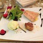 chaud froid de foie gras