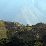 View of Machu Picchu from the top of Putucusi