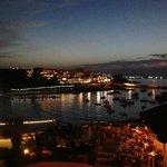 Superschöne Aussicht auf Bucht - wirklich schön !