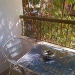 balcony of standard room 108