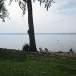Wonderful views of Lake Cayuga.