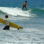 Auch Surfer  kommen auf ihre  Kosten