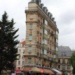 Район отеля