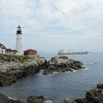 Head lighthouse view from east