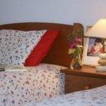 Two single beds - Casa Palmeira