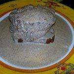 Filet amb salsa de Múrgules