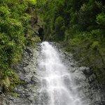 waterfall at the three cascades