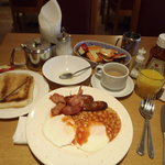 Full English Breakfast -Boston Manor Hotel, London
