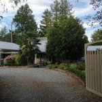 Hedgerow House entrance