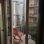 Room 110 ('Senior I') balcony