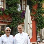 con il proprietario Herr Michael Gilowski