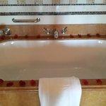 The bath tub