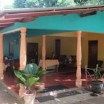 Pour se reposer après l'ascension de Sigiriya Rock