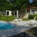Le Gîte et la piscine