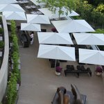 Do not miss taking lunch on the terrace.