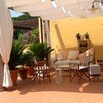 Relax alla Rondine Pisa in giardino in terrazza per soggiorni  in ogni stagione