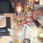 Filet de Daurade Royale arrosé d'un  Chablis 2009. Hum ! Hum !