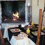 Warm hospitality.