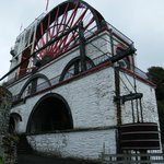 A view of the Great Laxey Wheel