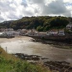 Tide out at Combe Martin