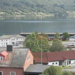 View of fiord from bedroom