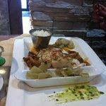 cabillaud plancha et poêlée légumes