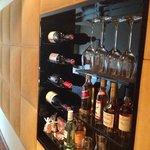 wall minibar room 607