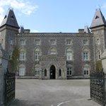Castle front view