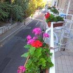 Le balcon de la chambre N°4