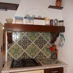 la cucina, dettaglio