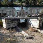 Replica of ferry; amazing ingenuity!