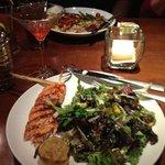 lemongrass salmon salad