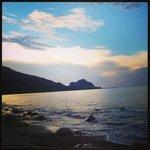 La spiaggia di S. Ambrogio