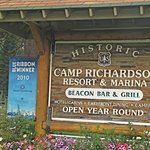 Entrance to Camp Richardson