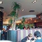 Inside the Middlebrook restaurant
