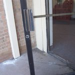 Entrance Doors don't close or lock