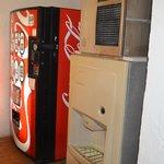 Soda and ice machines.