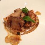 Terrine de foie gras et cepe