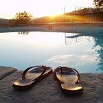 the pool at atimignano