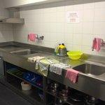 Kitchen in annex building
