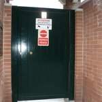 The entrance gate - don't be put off!