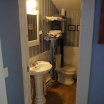 One of two bathrooms upstairs