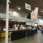 Food Court inside the Dulles Expo Center