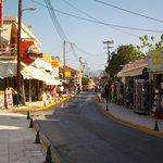 Sidari main Street