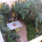 Inner courtyard / breakfast area