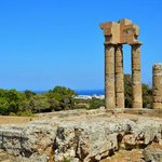 acropolis of Rhodes by justclairephotography