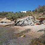 Hotel Andros Strand mit Bucht für zwei