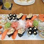 sushi på deling- yammi