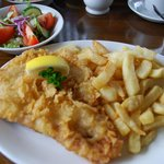 cod and chips- yummy!