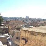 vue depuis notre chambre du Fauzi Azar a Nazareth
